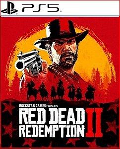 red dead redemption 2 ps5 psn midia digital