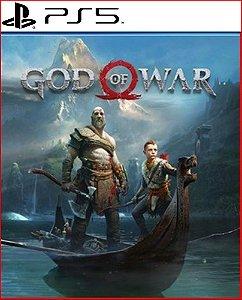 God of war PS5 mídia digital psn