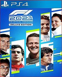 F1 2021 Deluxe Edition PS4 PSN MIDIA DIGITAL.