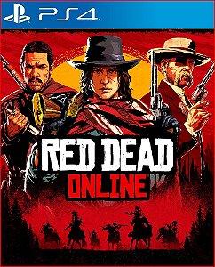 RED DEAD ONLINE PS4 MIDIA DIGITAL