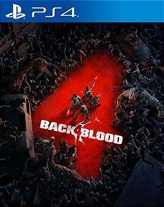 black 4 blood ps4 mídia digital