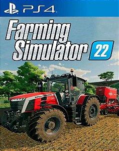 Farming Simulator 22 PS4 MIDIA DIGITAL