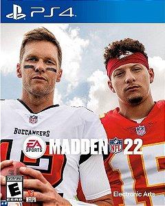 Madden NFL 22 PS4 midia digital