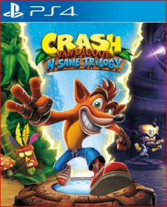 Crash Bandicoot NSane Trilogy ps4 mídia digital