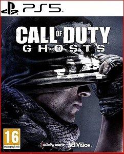 Call Of Duty Ghosts Ps5 Mídia Digital