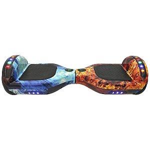 Hoverboard Skate Elétrico Gelo e Fogo