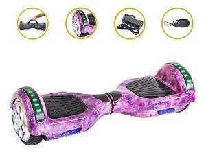 Hoverboard Skate Elétrico Lilas