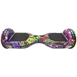 Hoverboard Skate Elétrico Colorido