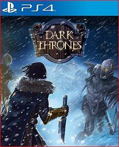 Dark Thrones Ps4 Mídia Digital