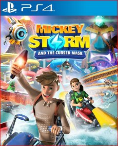Mickey Storm and the Cursed Mask Ps4 Mídia Digital