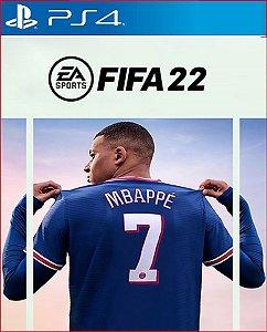 FIFA 22 Edição Ultimate para PS4 midia digital