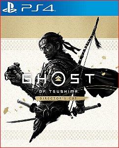 ghost of tsushima versão do diretor ps4 mídia digital