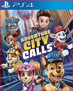 patrulha canina o filme a cidade da aventura está chamando ps4 mídia digital