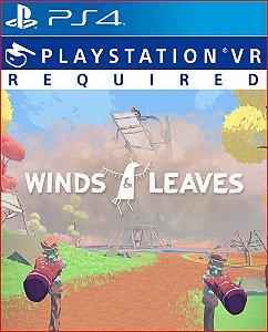 winds & leaves ps4 mídia digital