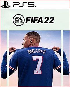FIFA 22 Edição Ultimate para PS5 português midia digital