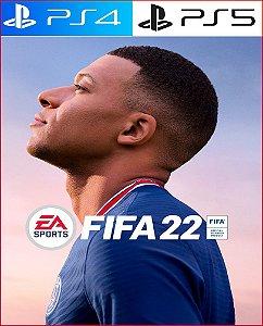 Fifa 2022 PS4 e PS5 Psn Mídia Digital