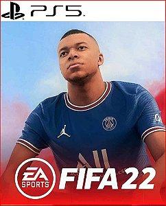 FIFA 22 Edição Standard para PS5 Psn Mídia digital