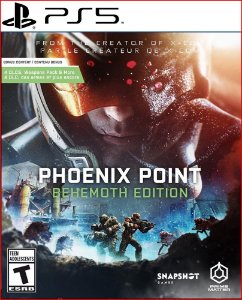 Phoenix Point ps5 Midia digital