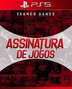 Assinatura de Jogos PS5 Em Mídia digital