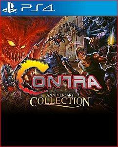 CONTRA ANNIVERSARY COLLECTION PS4 MÍDIA DIGITAL