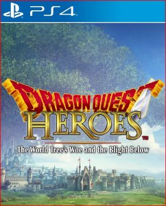 DRAGON QUEST HEROES THE WORLD TREE'S WOE AND THE  BLIGHT BELOW PS4 MÍDIA DIGITAL