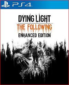 DYING LIGHT THE FOLLOWING EDITION PS4 PORTUGUÊS MIDIA DIGITAL