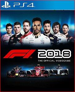 F1 2018 PS4 | PORTUGUÊS - MÍDIA DIGITAL PSN
