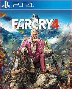 FAR CRY 4 PS4 MIDIA DIGITAL