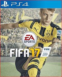 FIFA 17 PS4 MÍDIA DIGITAL PORTUGUÊS PT