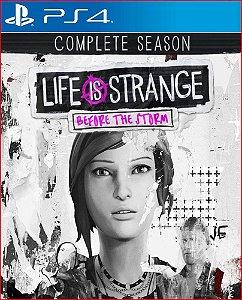 LIFE IS STRANGE BEFORE THE STORM COMPLETE SEASON PS4 MÍDIA DIGITAL