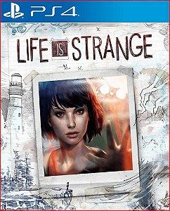 LIFE IS STRANGE COMPLETE SEASON PS4 MÍDIA DIGITAL