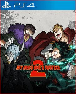 My hero ones justice 2 PS4 midia digital