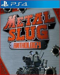 METAL SLUG ANTHOLOGY PS4 MÍDIA DIGITAL