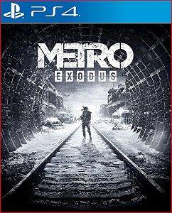 METRO EXODUS PS4 | PORTUGUÊS - MÍDIA DIGITAL PSN