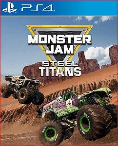 MONSTER JAM STEEL TITANS PS4 MÍDIA DIGITAL