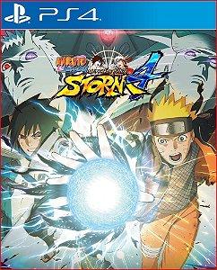 Naruto Shippuden Ultimate Ninja Storm 4 Ps4 Mídia Digital