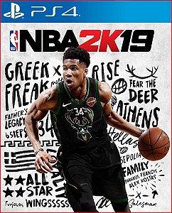 NBA 2K19 PS4 MÍDIA DIGITAL