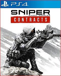 sniper ghost warrior contracts português ps4 mídia digital