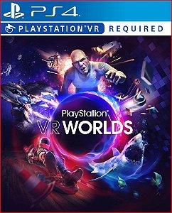 PLAYSTATION VR WORLDS PS4 MÍDIA DIGITAL