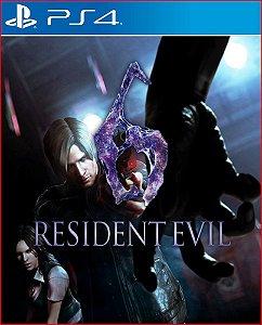 Resident evil 6 PS4 MÍDIA DIGITAL PSN