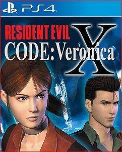 RESIDENT EVIL CODE VERONICA X PS4 MÍDIA DIGITAL