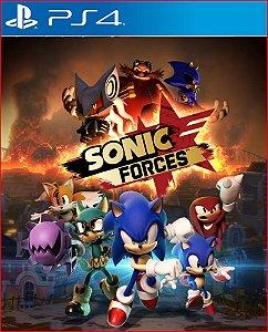 sonic forces PS4 Mídia digital