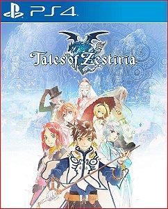 Tales of zestiria PS4 Midia digital