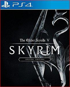 The elder scrolls v skyrim special edition PS4 MÍDIA DIGITAL