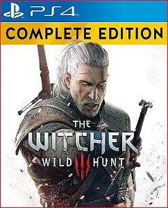 The witcher 3 wild hunt complete edition PS4 PORTUGUÊS MÍDIA DIGITAL