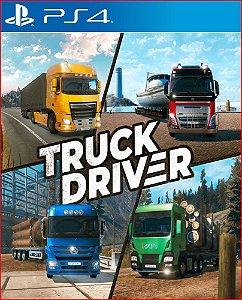 Truck driver PS4 PORTUGUÊS MÍDIA DIGITAL