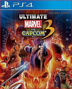 Ultimate marvel vs capcom 3 ps4 mídia digital