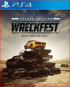 Wreckfest Deluxe Edition PS4 | PORTUGUÊS - MÍDIA DIGITAL PSN