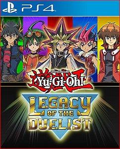 Yu-gi-oh! Legacy of The Duelist PS4 MÍDIA DIGITAL