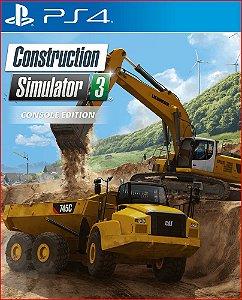 CONSTRUCTION SIMULATOR 3 - CONSOLE EDITION PS4 MÍDIA DIGITAL